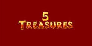 5 Treasures game logo